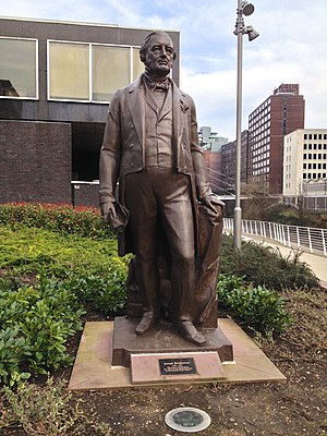 Joseph Brotherton - Statue of Joseph Brotherton in Salford