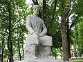 Statue of Mirza Alakbar Sabir in Guba 02.jpg