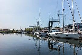 """Stavoren. Zicht op """"Nieuw Bruggetje"""". 31-05-2021 (actm.) 01.jpg"""
