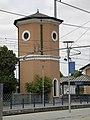 Stazione di San Giovanni in Persiceto, torre dell'acqua.JPG