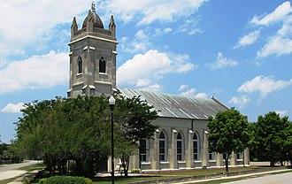 Moultrieville Historic District - Stella Maris Catholic Church, Moultrieville Historic District, May 2010