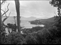 Stewart Island. View from Observation Rock over Paterson Inlet, Golden Bay and Thule Bay. ATLIB 273977.png