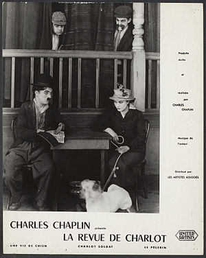 A Dog's Life - Image: Still from Charles Chaplin A Dog's Life 1918 First National Pictures EYE FOT291511