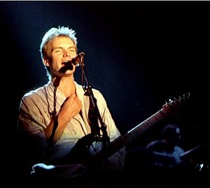 Sting (musician) - Sting performing in Norway during 1985