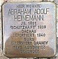 Stolperstein Anröchte Marktstraße 23 Abraham Adolf Heinemann.jpg