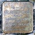 Stolperstein Barbarossastr 36 (Schön) Alfred Moses.jpg
