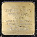 Stolperstein Brunnenstr 165 (Mitte) Johanna Hanka Grothendieck.jpg
