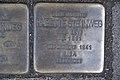 Stolperstein Duisburg 500 Hochfeld Moritzstraße 14 Babette Steinweg.jpg