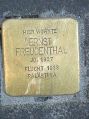 Stolperstein Ernst Freudenthal