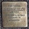 Stolperstein Friedrichstr 105 (Mitte) Philipp Kessler.jpg