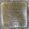 Stolperstein Höxter Marktstraße 27 Karoline Goldschmidt.jpg