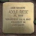 Stolperstein Pariser Str 11 (Wilmd) Adolf Riese.jpg
