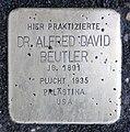 Stolperstein Theodor-Heuss-Platz 2 (Westend) Alfred David Beutler.jpg