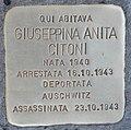 Stolperstein für Giuseppina Anita Citoni (Rom).jpg