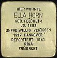 Stolpersteine Köln, Ella Horn (Erzbergerplatz 13).jpg