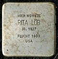 Stumbling block for Rita Löb (Bergisch Gladbacher Straße 1203)