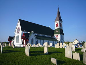 Trinity, Newfoundland and Labrador - St. Paul's Anglican Church in Trinity