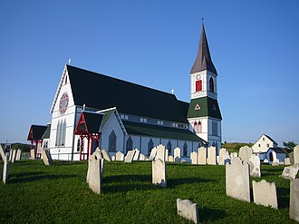 Trinity, Newfoundland and Labrador - St. Paul's Anglican Church in Trinity