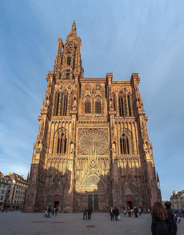 Strasbourg cathedral wikipedia for K architecture strasbourg