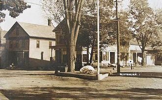 Alstead, New Hampshire - Image: Street Scene, Alstead, NH