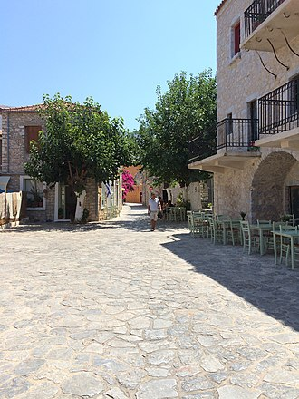Areopoli - Street in Areopoli