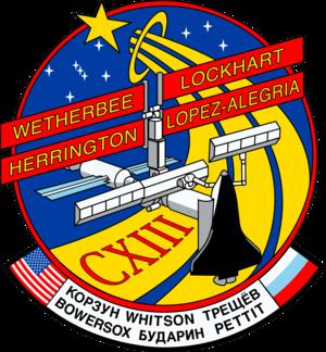 John Herrington - Image: Sts 113 patch