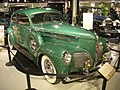 Studebaker National Museum May 2014 062 (1940 Studebaker President Club Sedan).jpg