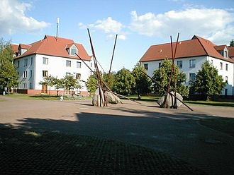 University of Potsdam - The student village on the Babelsberg Campus