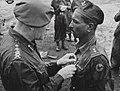 Subadar Ganpat Patil receiving the Military Cross from General Sir Claude Auchinleck, 1944 (c).jpg