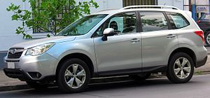 Subaru Forester - Image: Subaru Forester 2.0 XS 2013 (14901208478) (cropped)