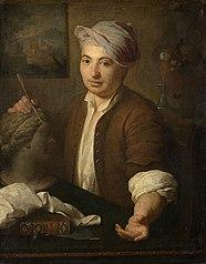 Portrait du sculpteur Pierre Lucas