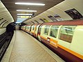 Subway train at Kelvinhall, Glasgow - DSC06277.JPG