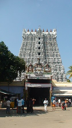 Suchindram temple