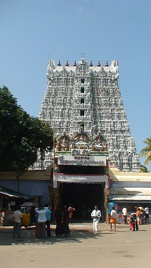 Suchindram - Suchindram temple