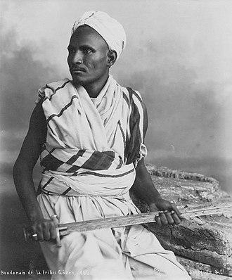 Ja'alin tribe - Warrior from the tribe of the Ja'alins