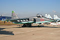 Sukhoi Su-25SM Frogfoot 06 red (8583524373).jpg