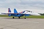 Sukhoi Su-30SM 'RF-81703 - 32 blue' (37415911891).jpg