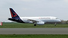 Sukhoï superjet 100 de Brussels airlines
