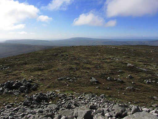 Summit view on Cuilcagh, SW into Cavan - geograph-3762620