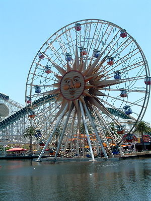 Mickey's Fun Wheel - The former Sun Wheel at Disney's California Adventure Park