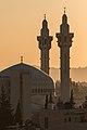 Sunrise over King Abdullah I Mosque.jpg