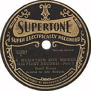 Buell Kazee - A Mountain Boy Makes His First Record, 1929