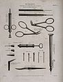 Surgical instruments for the extraction of cataracts. Engrav Wellcome V0016364.jpg