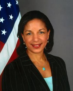 Susan Rice - Image: Susan Rice, official State Dept photo portrait, 2009