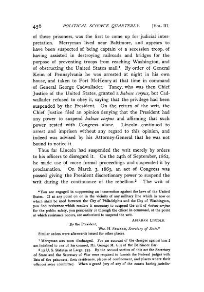 File:Suspension of Habeas Corpus during the War of the Rebellion.djvu
