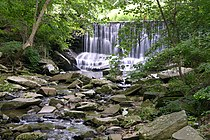 Susquehanna State Park Maryland Waterfall 3264px.jpg