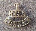 Sussex RGA shoulder title.jpg