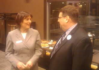 Suzan DelBene - Suzan DelBene and Dean Willard, 2010
