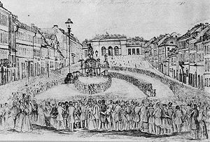 Prague Slavic Congress, 1848 - The start of the congress in Prague