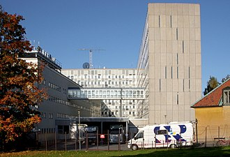 Sveriges Radio - The Sveriges Radio building in Stockholm